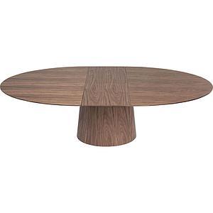 Table ronde rallonge BENVENUTO Kare Design