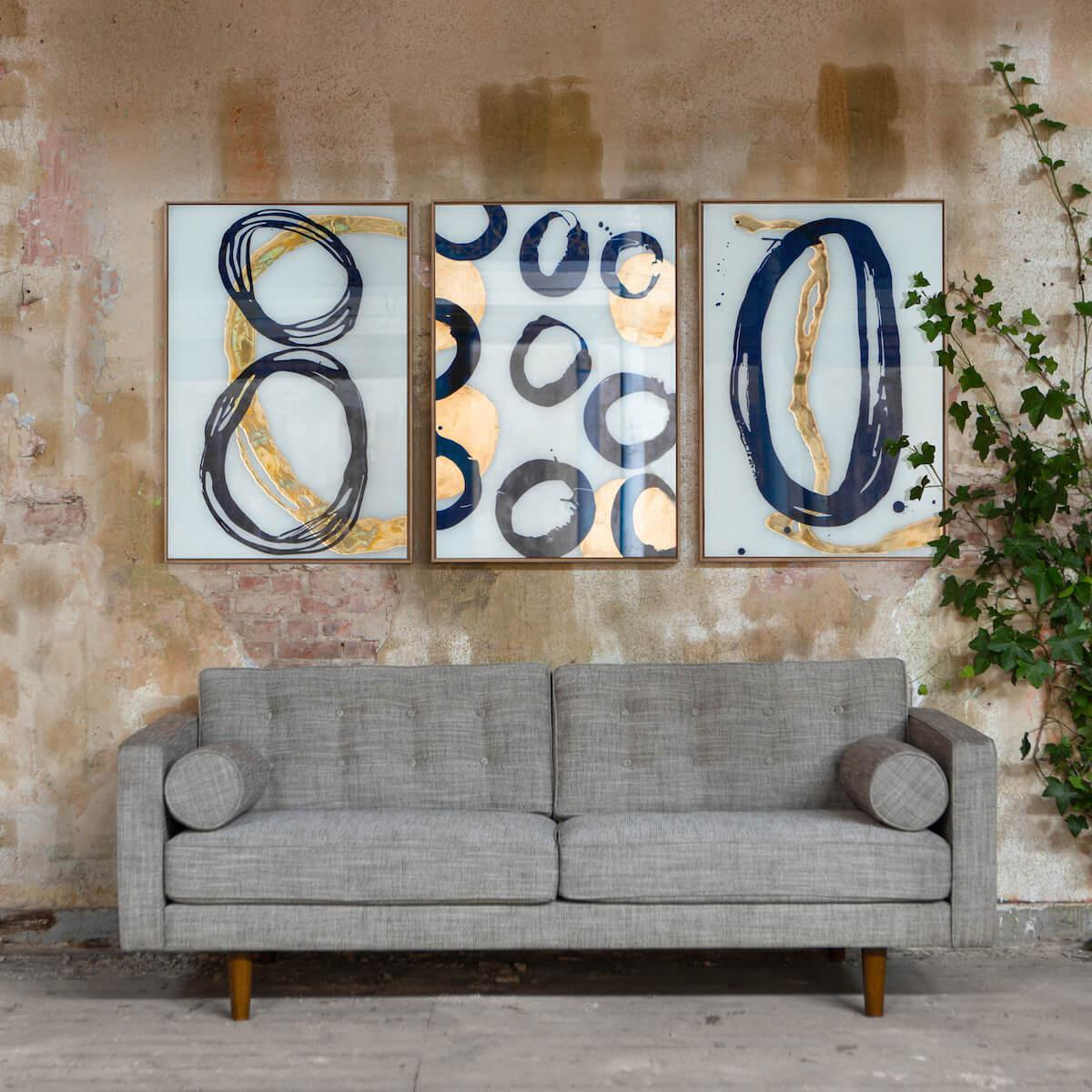 Tableau CIRCLET WALL ART Notre Monde