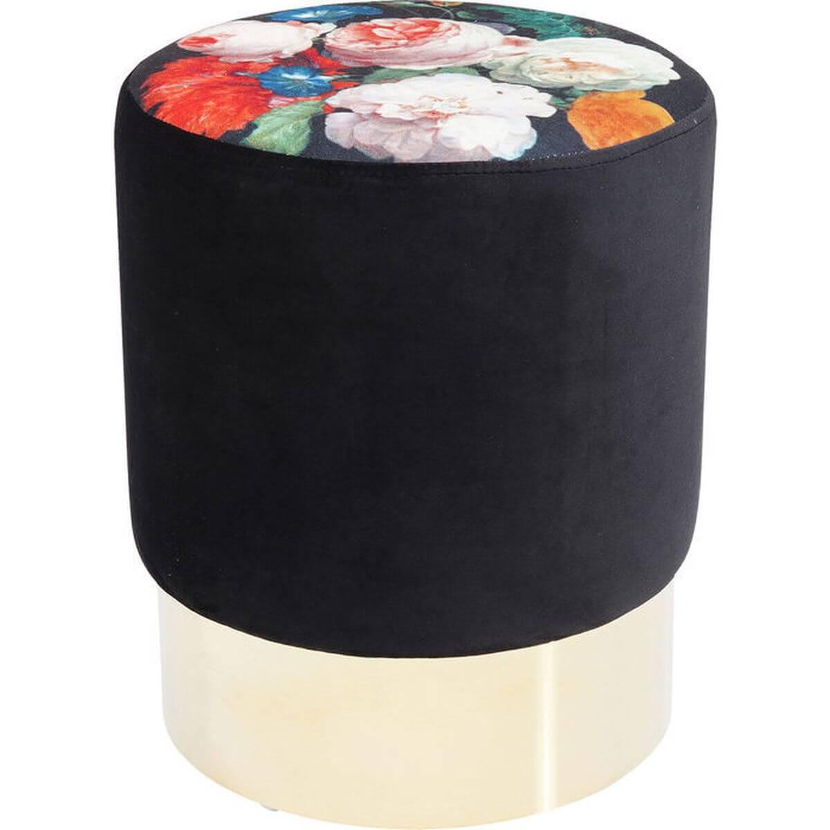 Tabouret CHERRY BLOSSOM Kare Design Laiton 35cm