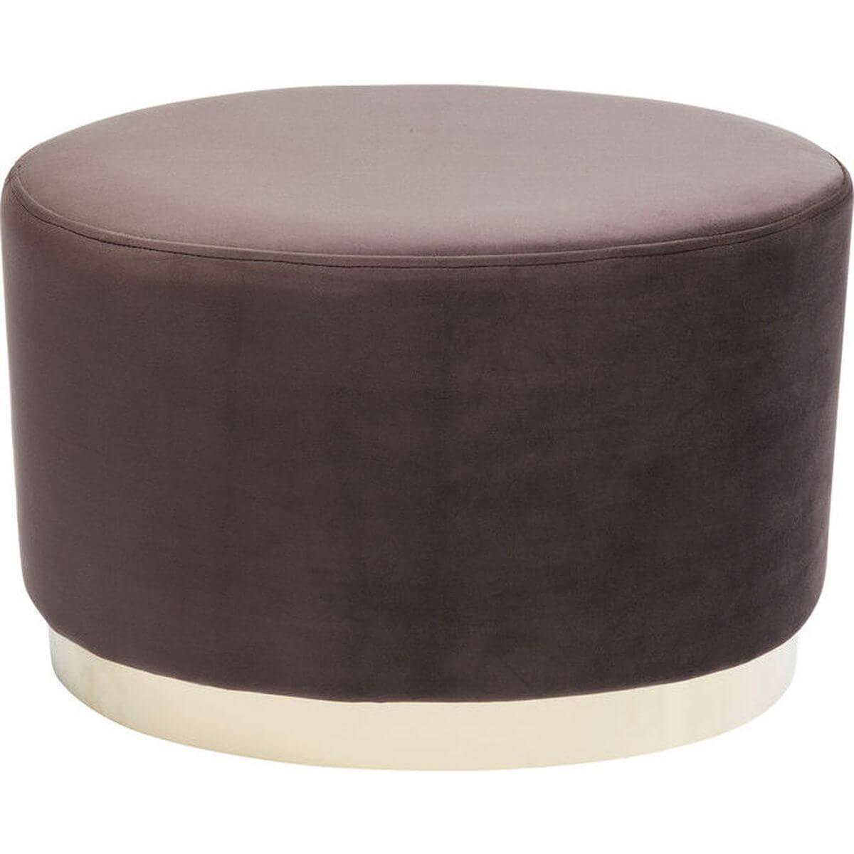 Tabouret CHERRY ECLIPSE Kare Design marron/laiton