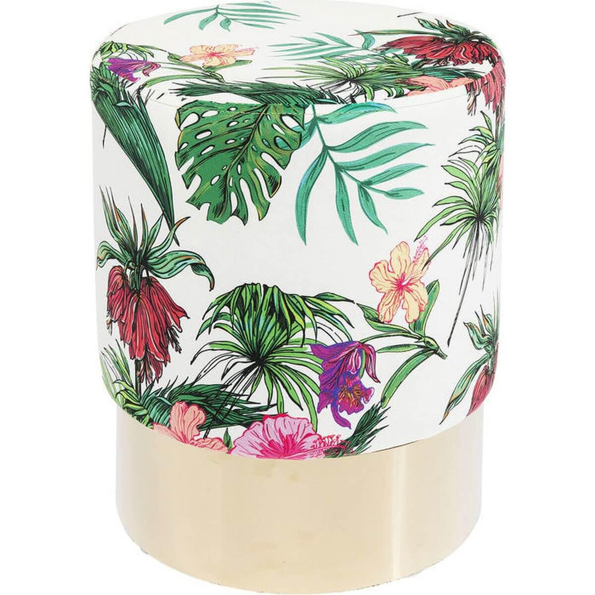 Tabouret CHERRY JUNGLE Kare Design laiton 35cm