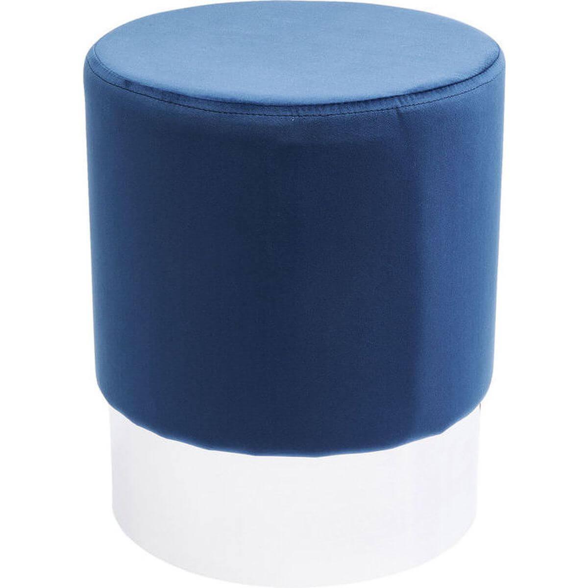 Tabouret CHERRY Kare Design bleu/argent 35cm