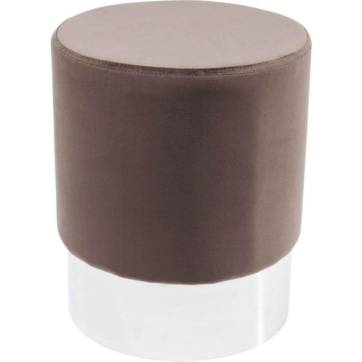 Tabouret CHERRY Kare Design marron/argent 35cm
