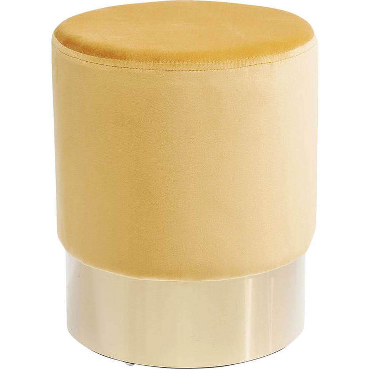 Tabouret CHERRY Kare Design orange/laiton 35cm