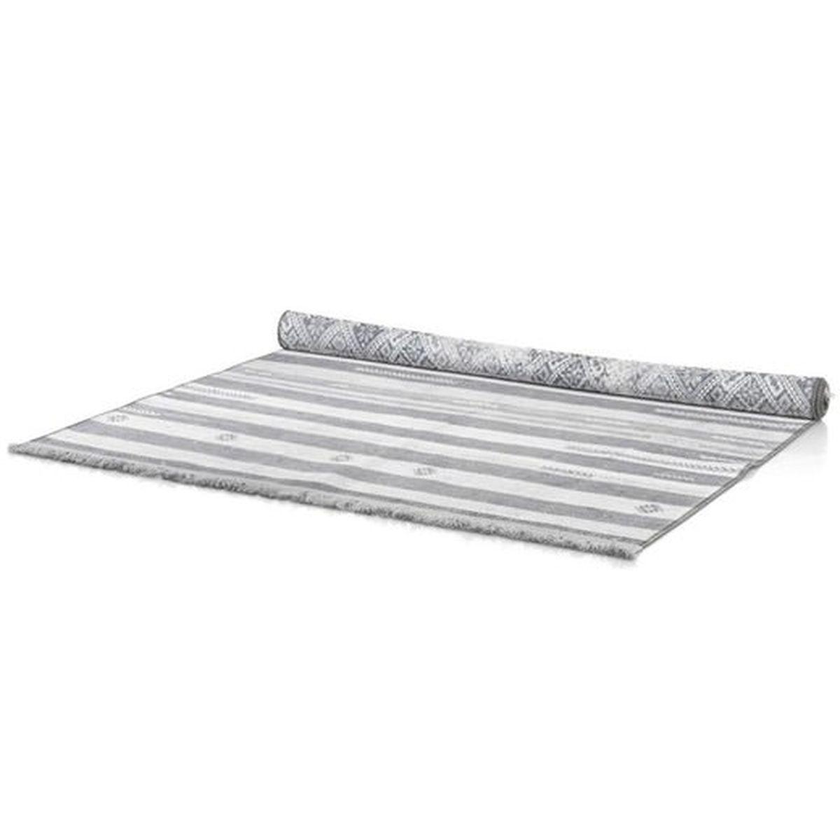 Tapis 230x160cm MOROCCO DOUBLE Coco Maison gris