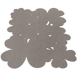 TREFLE by Fermob Tapis 150 x 100 taupe