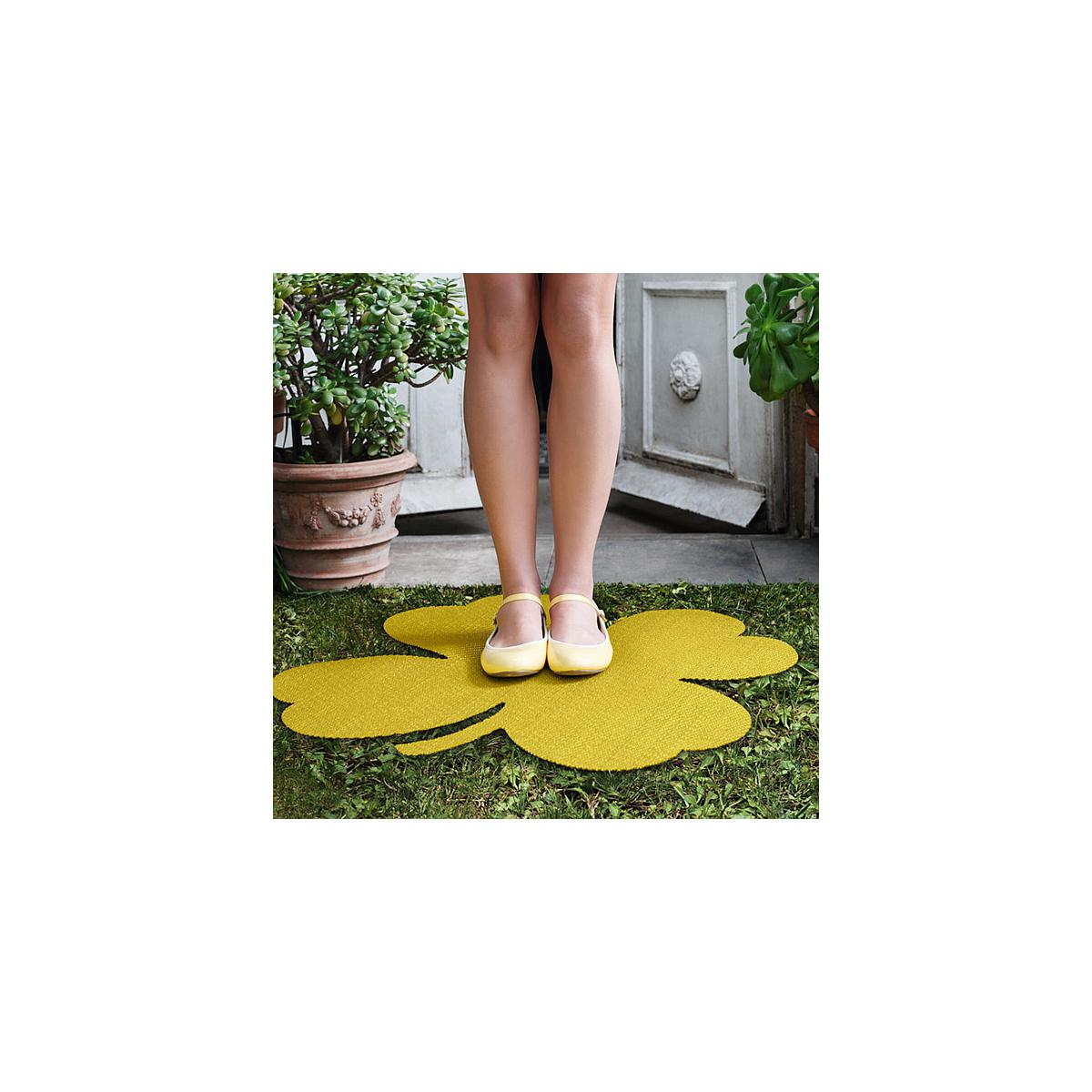 TREFLE by Fermob Tapis 66,5 x 66,5 pineapple
