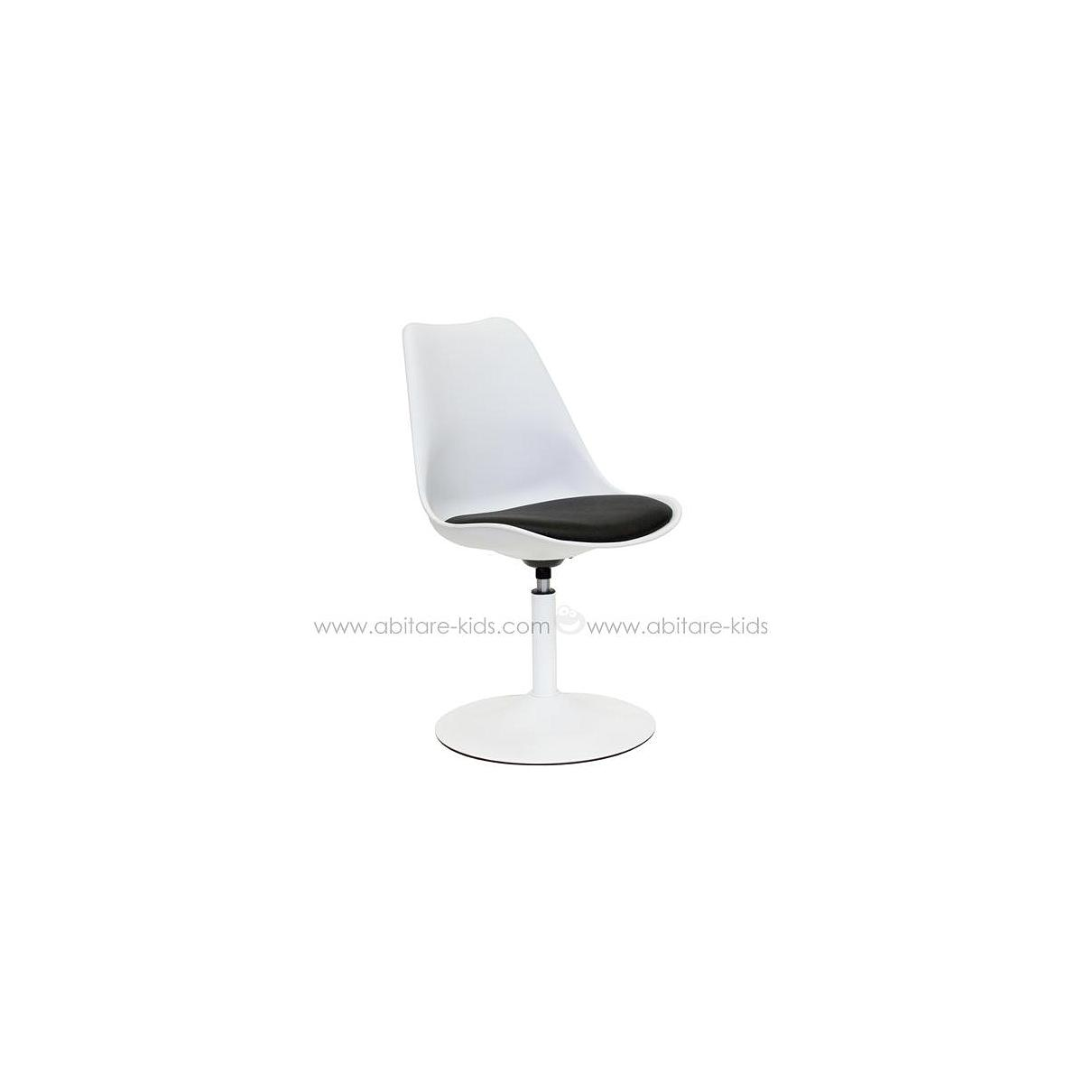 VIVA by Tenzo Chaise blanc/noir