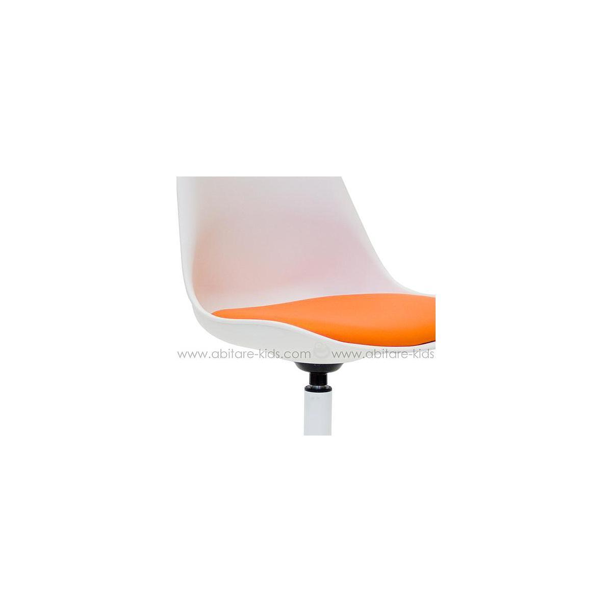 VIVA by Tenzo Chaise blanc/orange