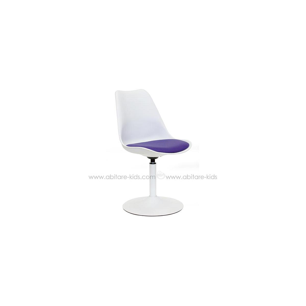 VIVA by Tenzo Chaise blanc/violet