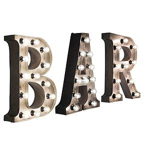 WALL LIGHT BAR by Kare Applique murale BAR en 3 pièces